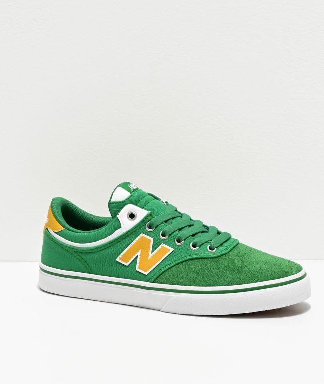 New Balance Numeric 255 Green \u0026 Yellow