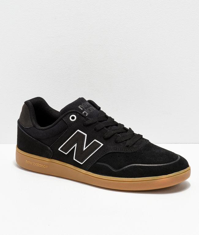 África longitud Ya  New Balance Numeric 288 Black & Gum Skate Shoes | Zumiez