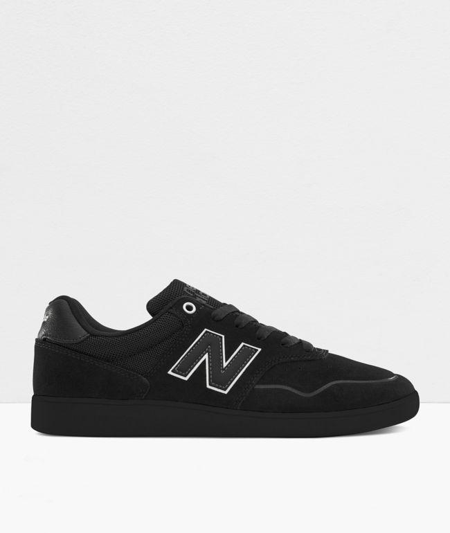 Terraplén Recientemente Historiador  New Balance Numeric 288 Black Skate Shoes | Zumiez.ca
