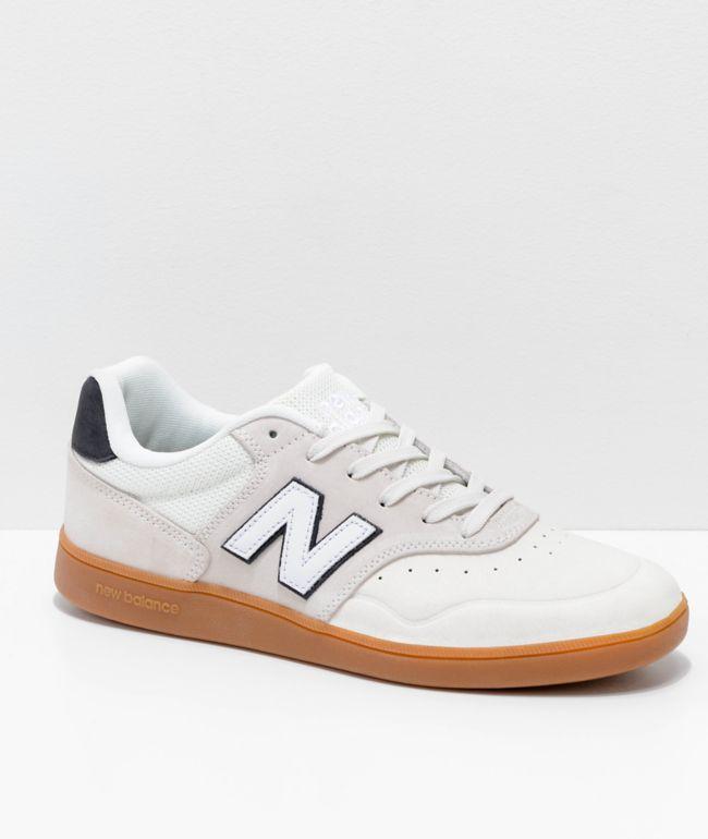 New Balance Numeric 288 Sea Salt and Gum Skate Shoes