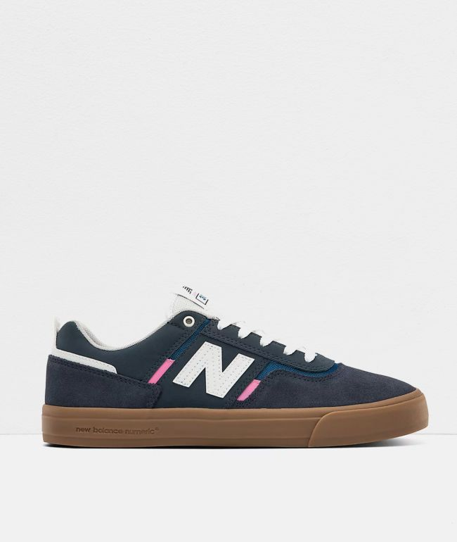 New Balance Numeric 306 Foy Navy & Gum Skate Shoes