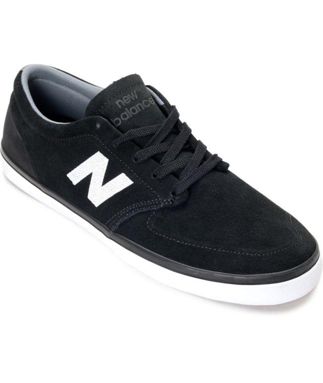 New Balance Numeric 345 Black \u0026 White