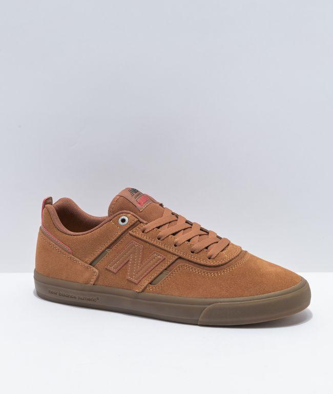 piel Apariencia Cenagal  New Balance Numeric x Deathwish 306 Foy Tan Skate Shoes | Zumiez