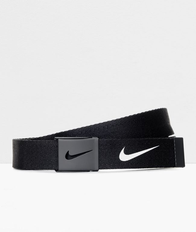 Nike Essentials Black Web Belt