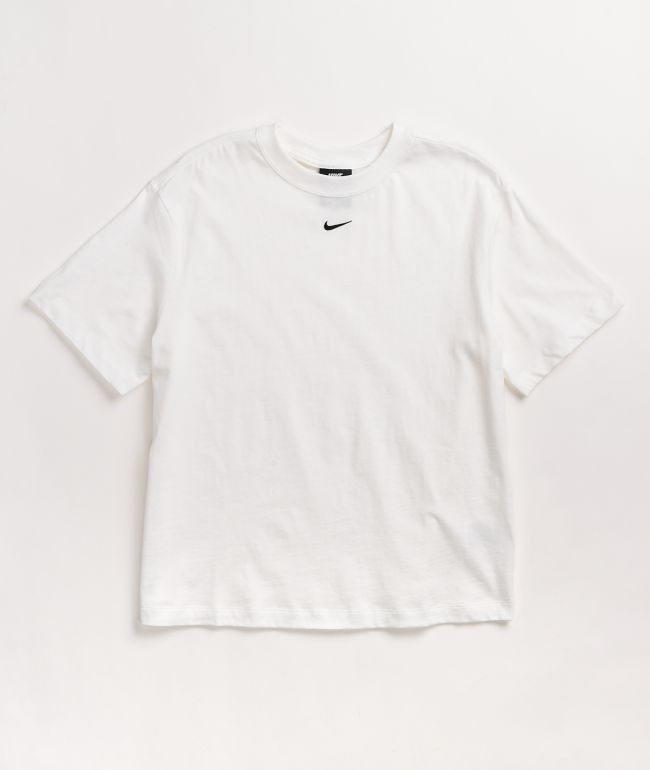 Nike NSW Essentials White Boyfriend T-Shirt