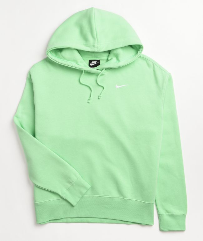 Nike NSW Green Fleece Hoodie