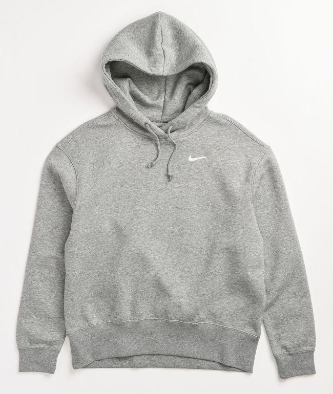 Nike NSW Grey Fleece Hoodie