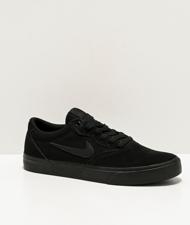 Nike SB Chron SLR Black Skate Shoes
