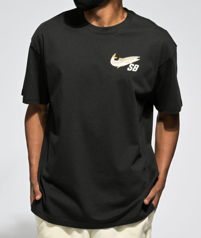 Nike SB Daan Fishin Black T-Shirt