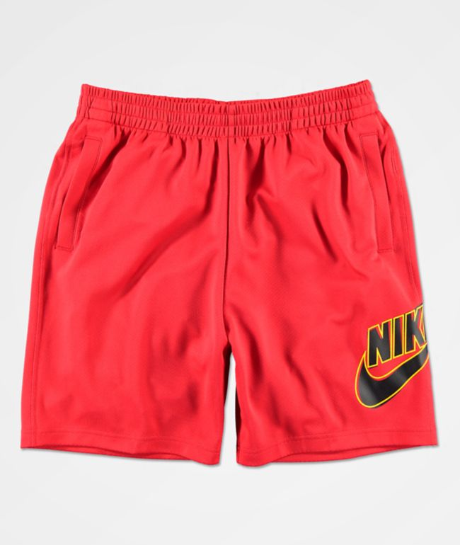 Nike SB Dri-Fit Sunday shorts rojos de baloncesto