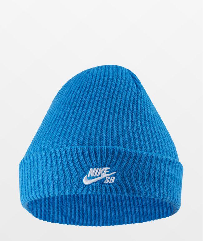 Nike SB Fisherman Blue Beanie