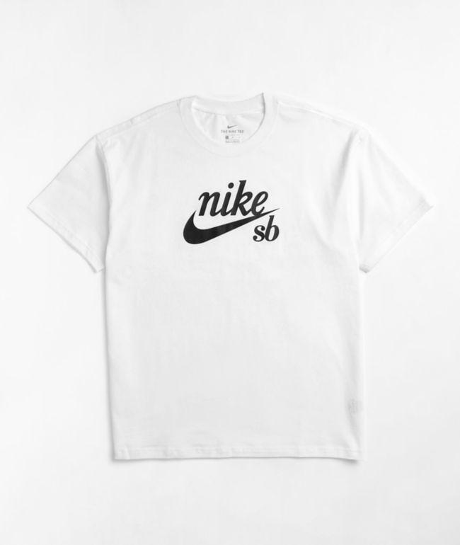 Nike SB HBR White T-Shirt