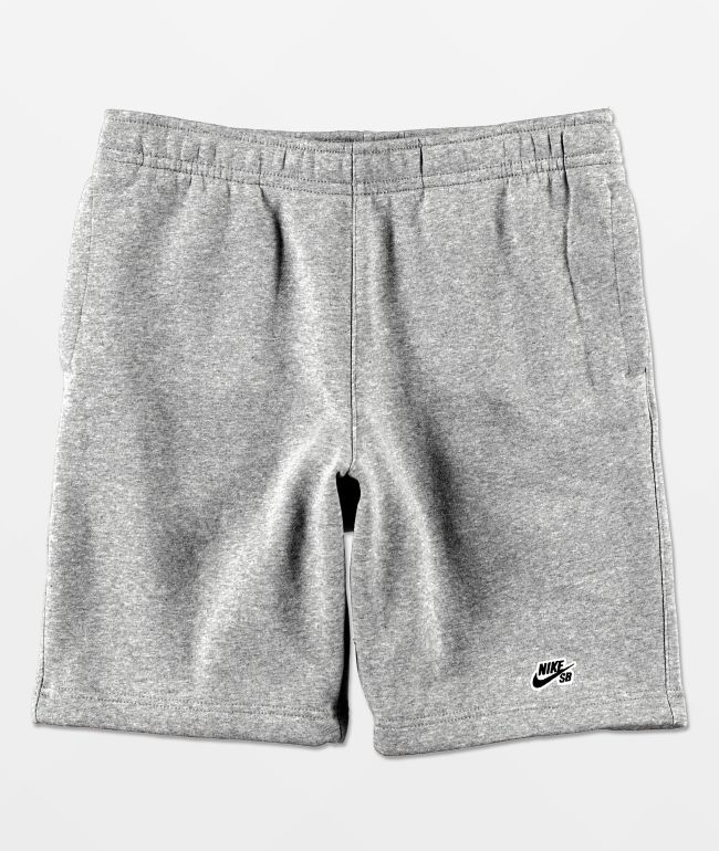 Nike SB Heather Fleece Grey Shorts