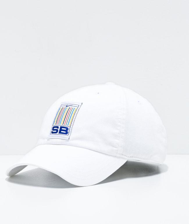 Nike SB Heritage86 White Strapback Hat