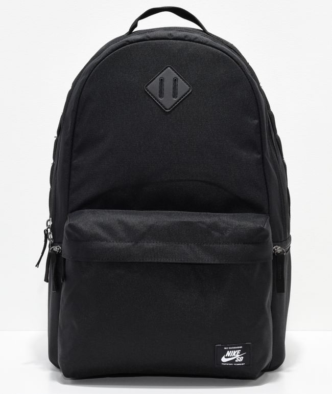 servidor ponerse en cuclillas Armonía  Nike SB Icon Black Backpack | Zumiez