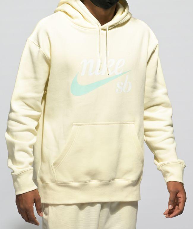 Nike SB Icon Craft Coconut Milk Hoodie