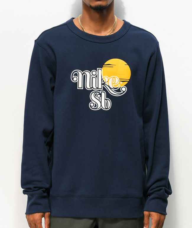 Nike SB Icon Sunrise Obsidian Crew Neck