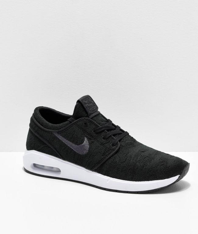 Nike SB Janoski Air Max 2 Black \u0026 White