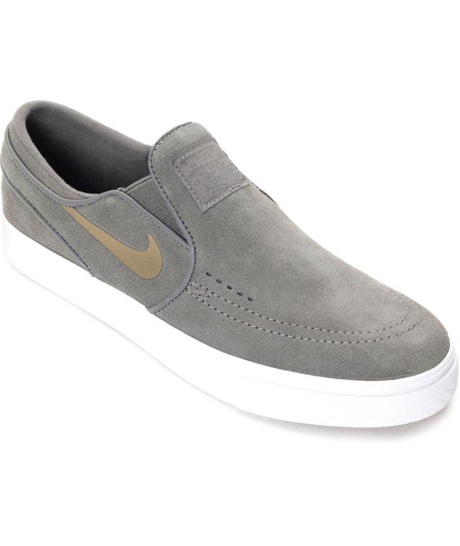 Nike SB Janoski Midnight Fog Slip On