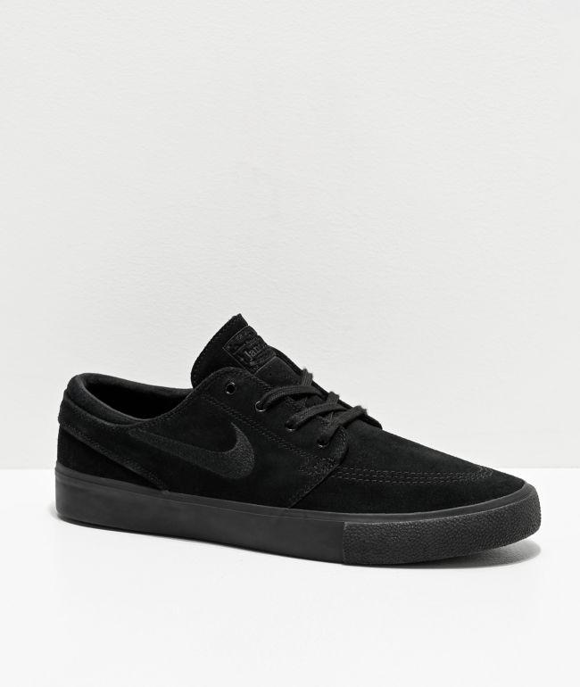 Nike SB Janoski RM zapatos de skate de ante negro