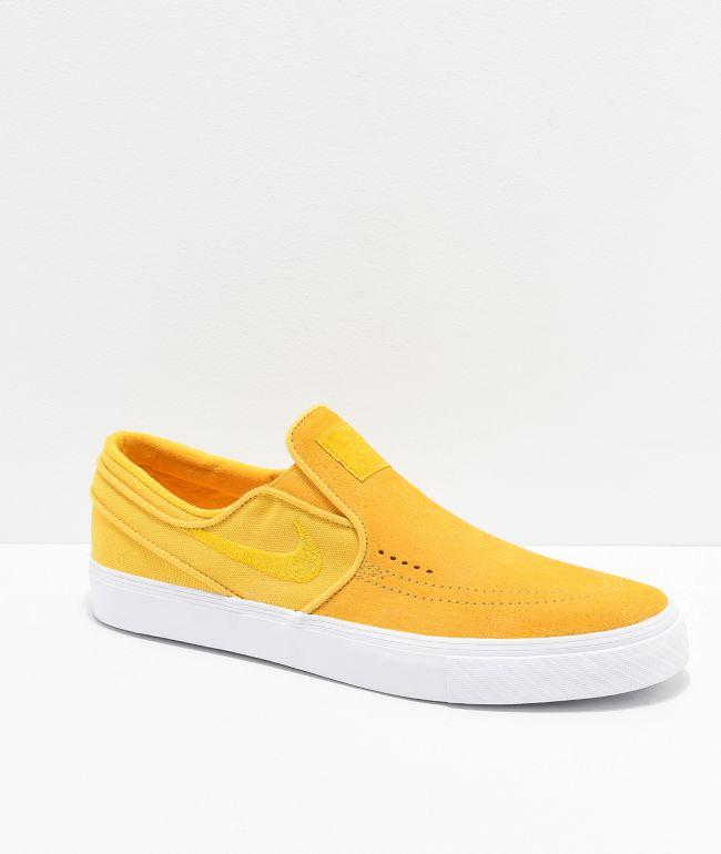 nike janoski yellow
