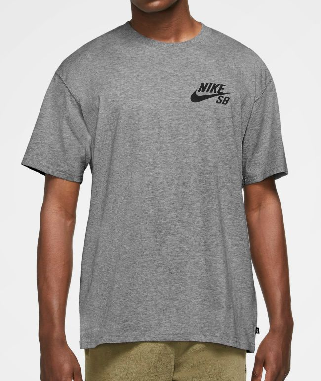 Nike SB Logo Grey T-Shirt