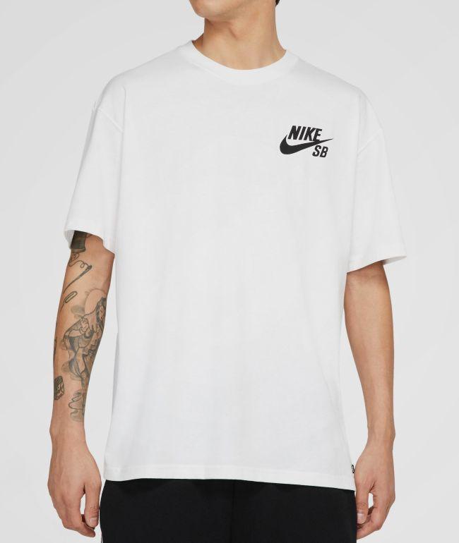 Nike SB Logo White T-Shirt