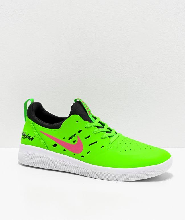 Nike SB Nyjah Free Watermelon Green