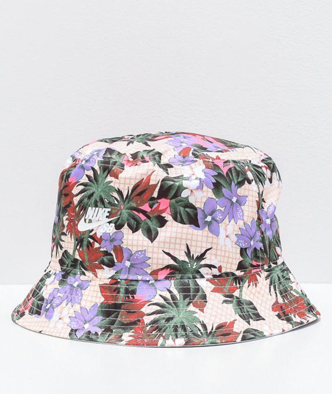 Nike SB Paradise White Bucket Hat