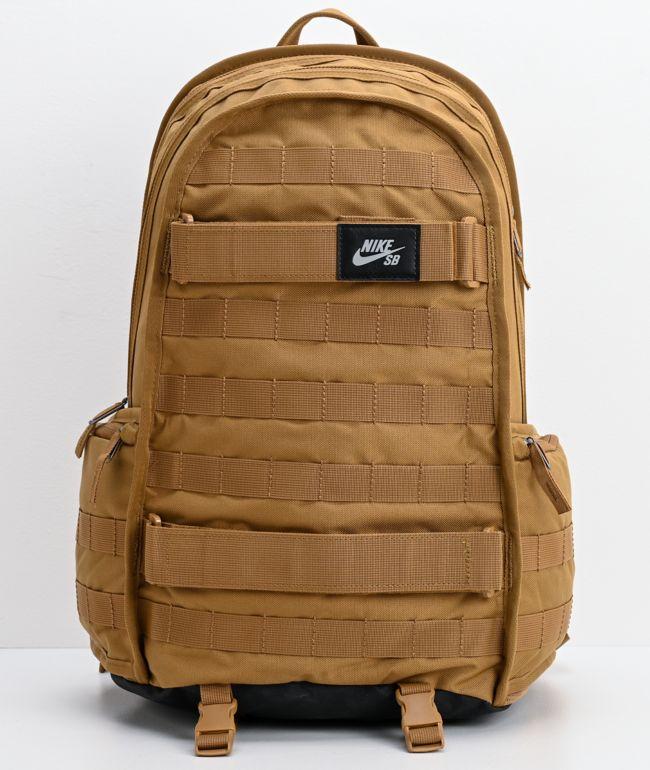 Molestar Visión general romano  Nike SB RPM Golden Beige Backpack | Zumiez
