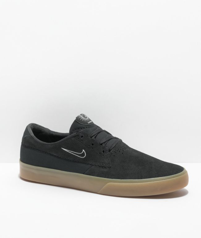 Nike SB Shane Black & Gum Skate Shoes