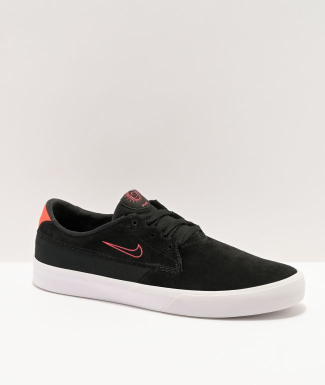 Nike SB Shane Black & Red Skate Shoe