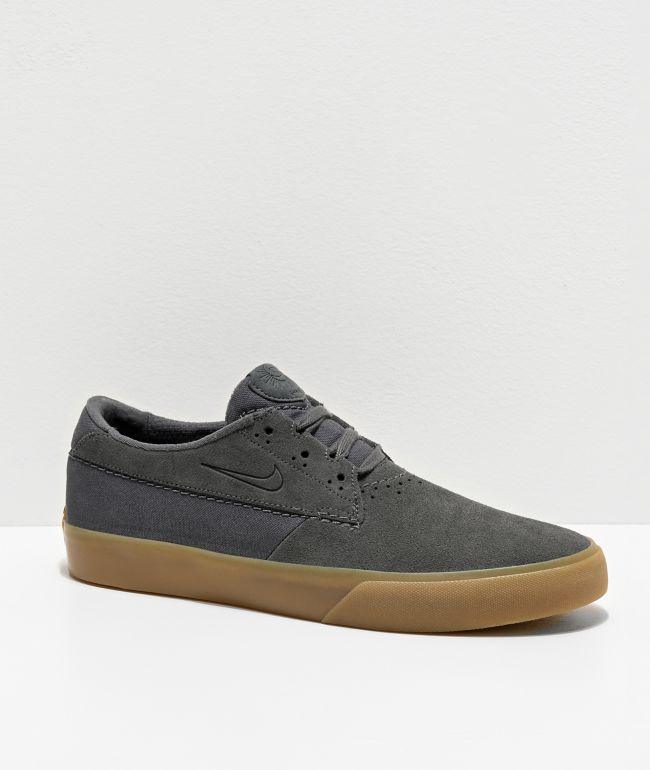 Nike SB Shane Dark Grey & Gum Skate Shoes