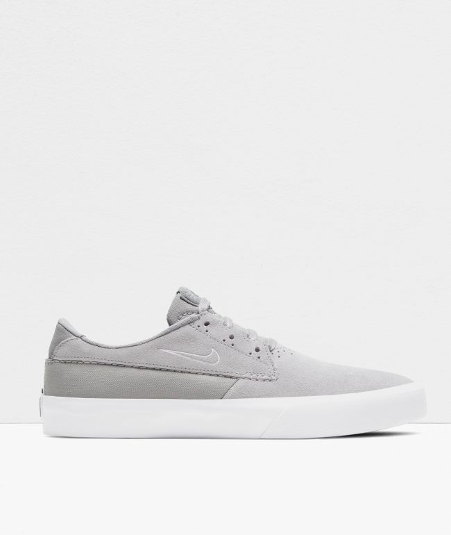 Nike SB Shane Wolf Grey & White Skate Shoes