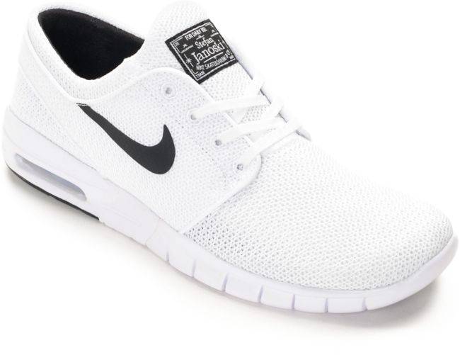Nike SB Stefan Janoski Air Max White