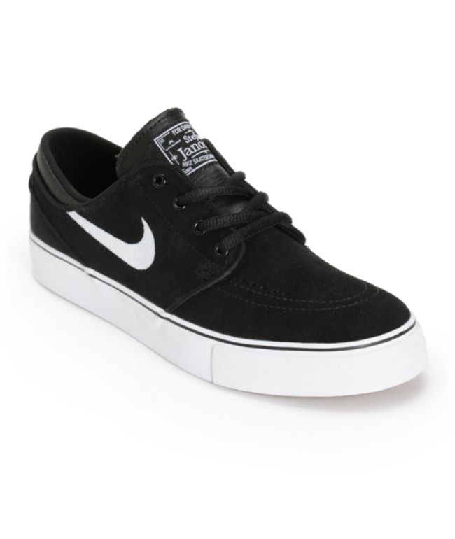 Nike SB Stefan Janoski zapatos de skate negros para niños