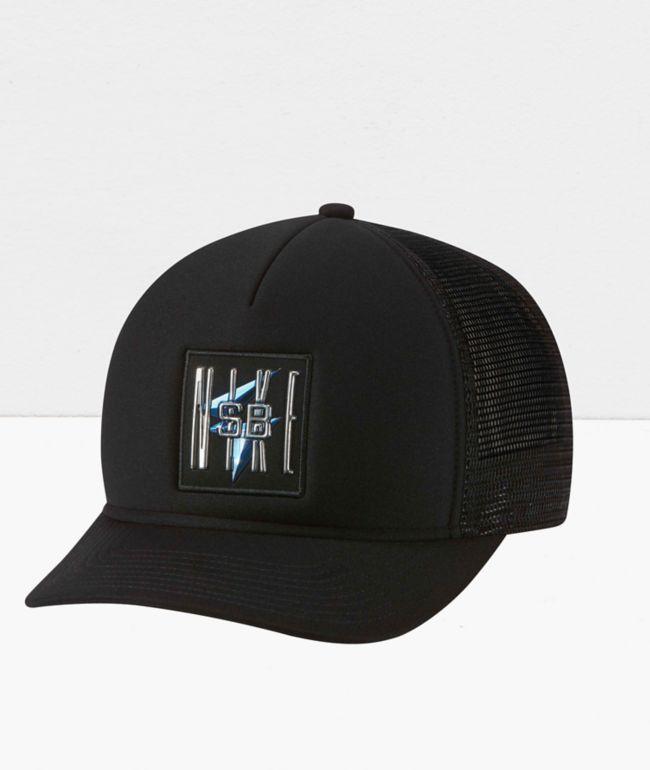 Nike SB x Samborghini Black Trucker Hat