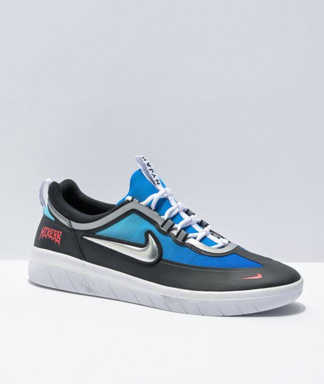Nike SB x Samborghini Nyjah Free 2.0 Skate Shoes