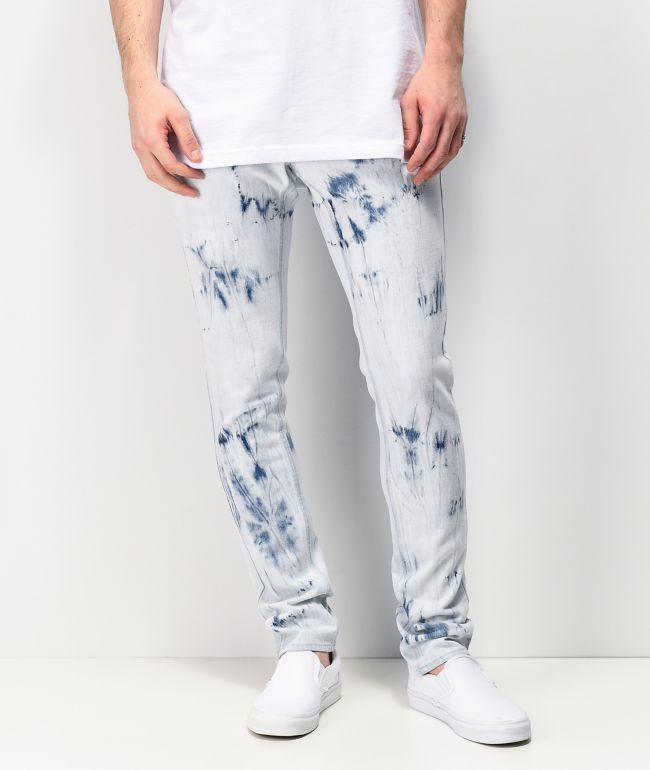 Ninth Hall Rogue Taped Cyclone Skinny Denim Jeans