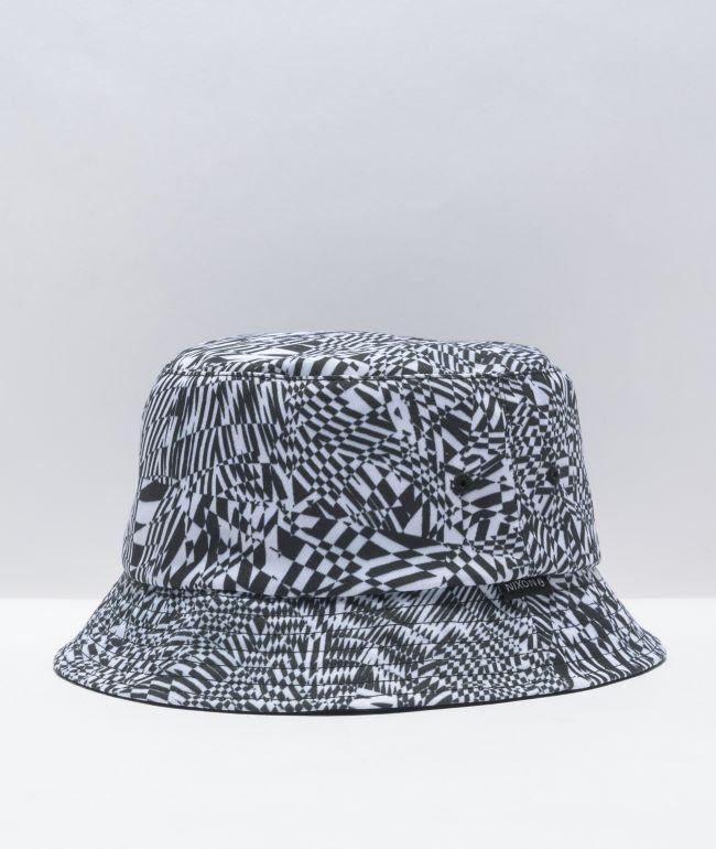 Nixon Digi Print Black & White Bucket Hat
