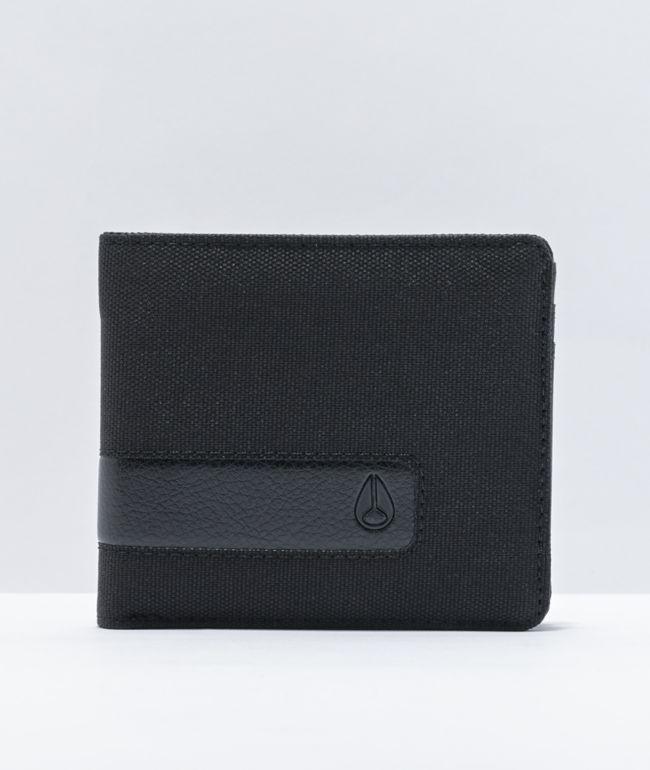 Nixon Showoff All Black Bifold Wallet