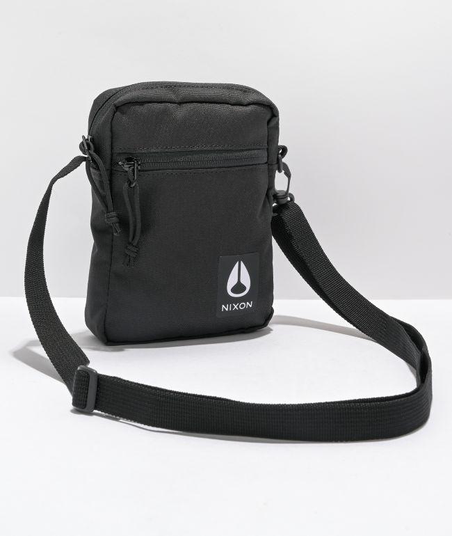 Nixon Stash Black Shoulder Bag
