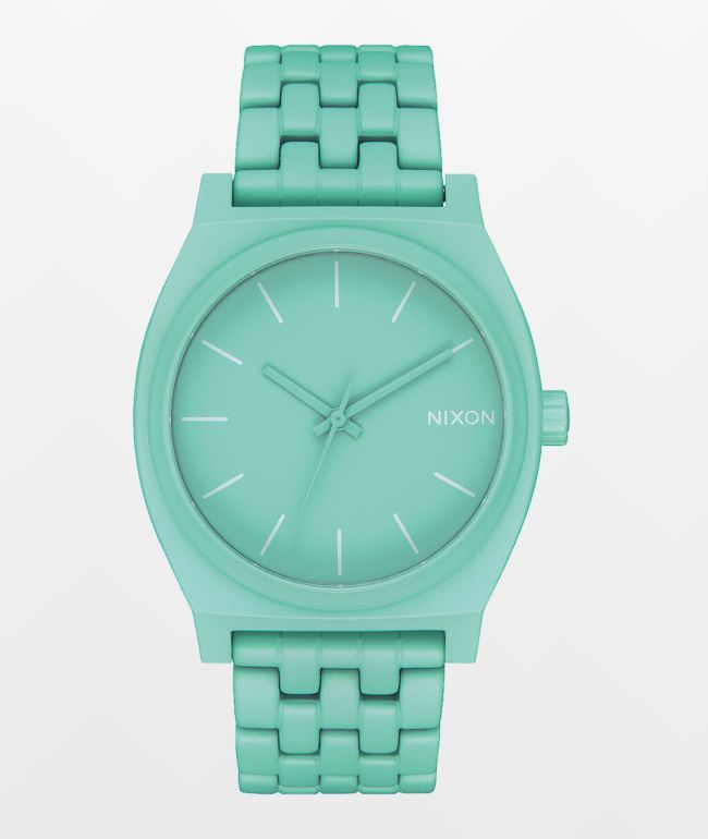 Nixon Time Teller Mint Analog Watch