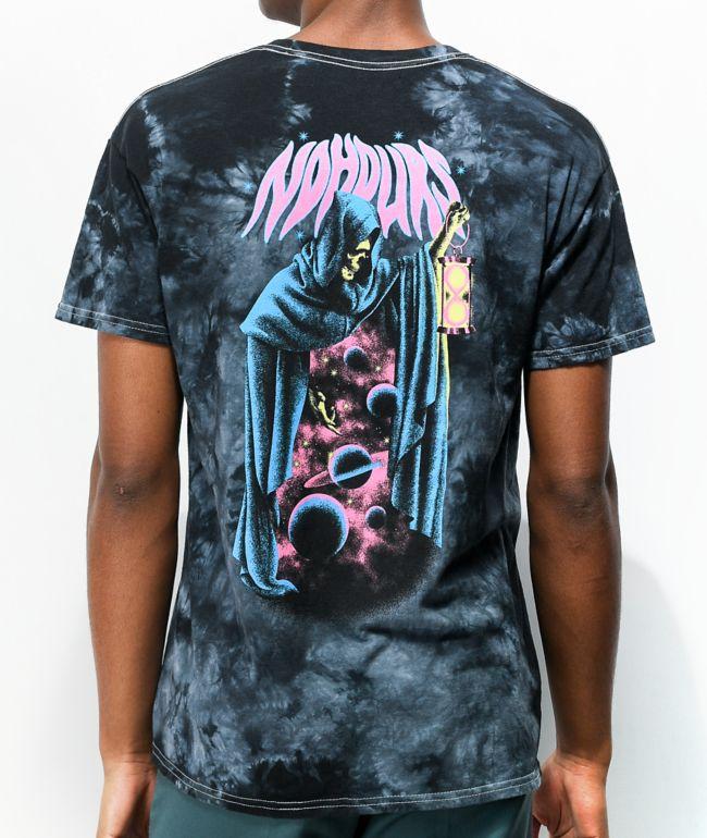 NoHours The Void Black Tie Dye T-Shirt
