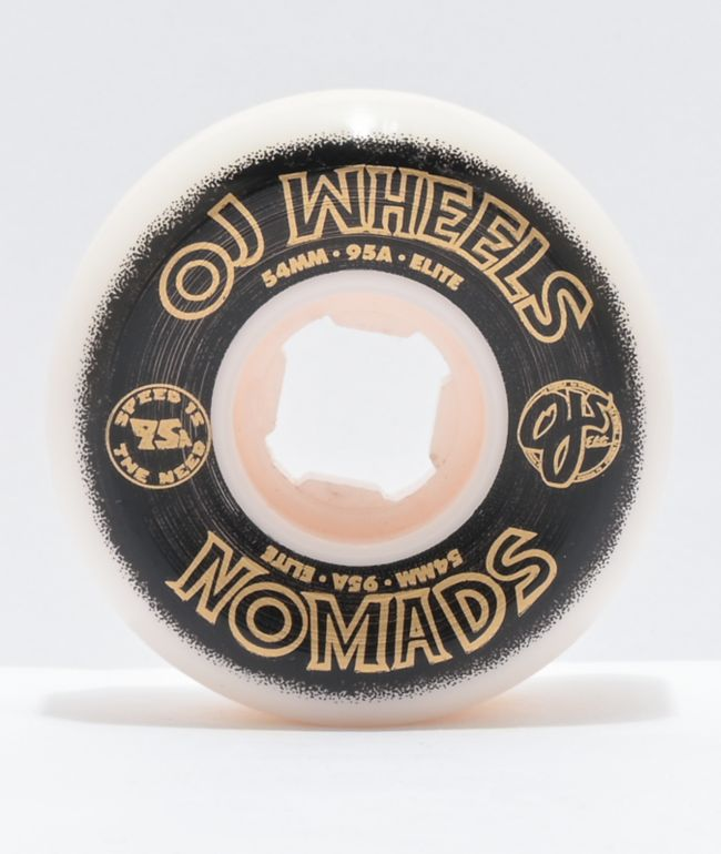 OJ Nomads Elite 54mm 95a Skateboard Wheels