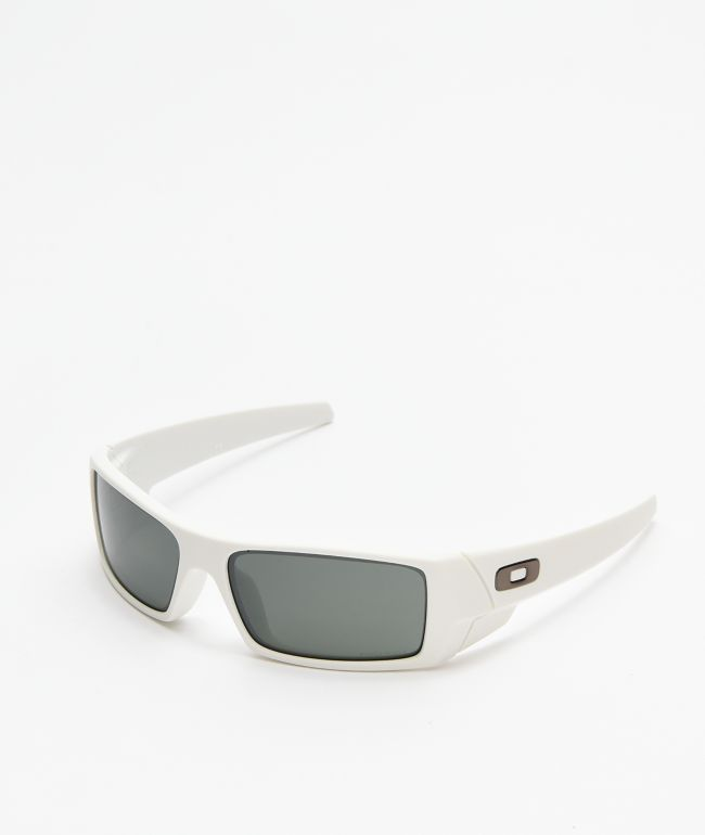 Oakley Gascan Matte White & Prizm Black Sunglasses
