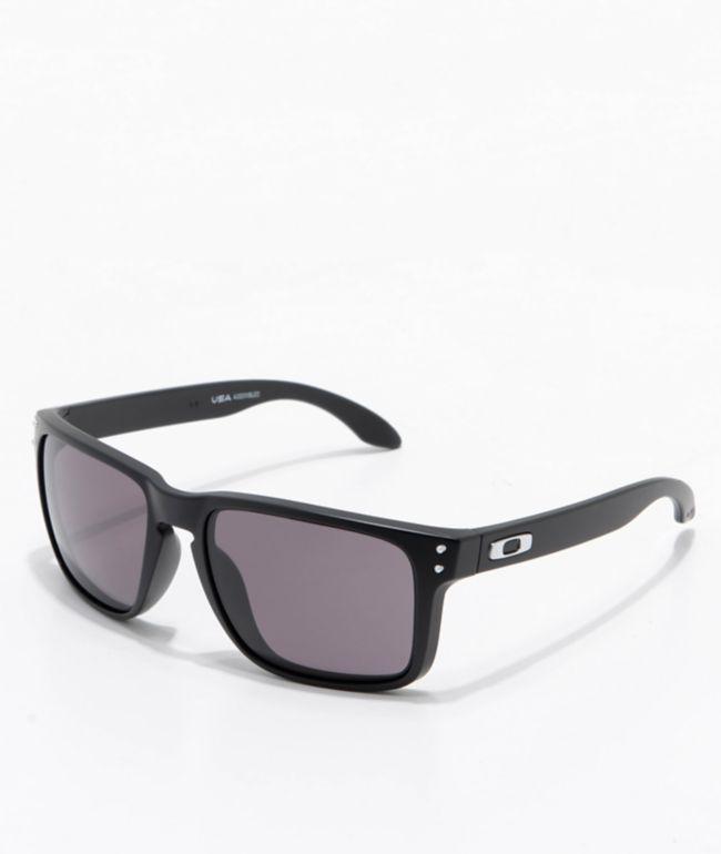 Oakley Holbrook XL Black & Warm Grey Sunglasses