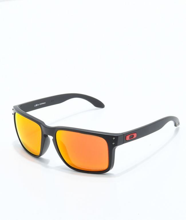 Oakley Holbrook XL Prizm Black & Ruby Sunglasses