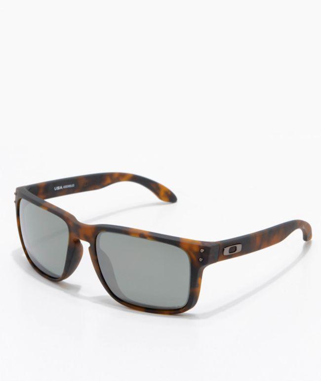 Oakley Holbrook XL Tortoise & Prizm Black Sunglasses