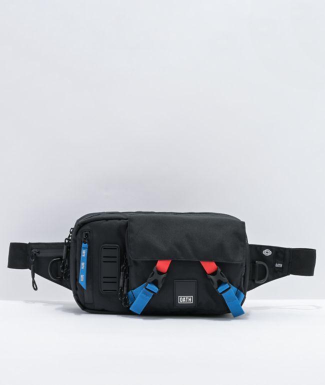 Oath Link Black Sling Bag